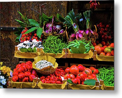 Italian Vegetables  Metal Print by Harry Spitz
