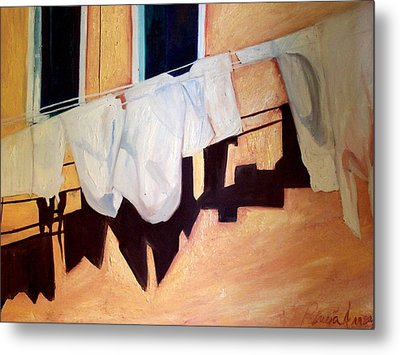 Metal Print featuring the painting Italian Wash by Patricia Arroyo