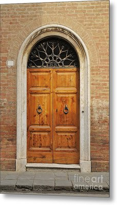 Italy - Door Fifteen Metal Print