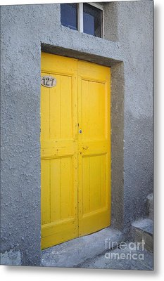 Italy - Door Three Metal Print