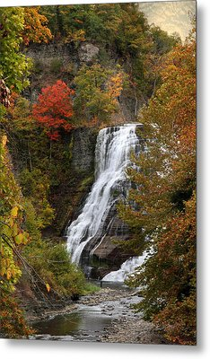 Ithaca Falls Metal Print by Jessica Jenney