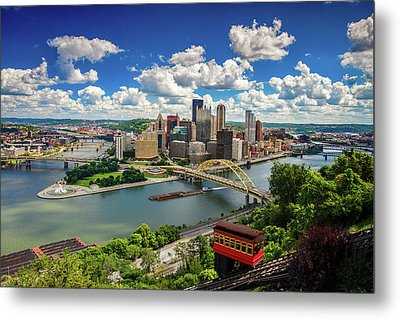 Metal Print featuring the photograph It's A Beautiful Day In The Neighborhood by Emmanuel Panagiotakis