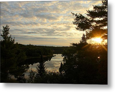 Metal Print featuring the photograph It's A Beautiful Morning by Debbie Oppermann