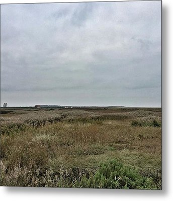 It's A Grey Day In North Norfolk Today Metal Print by John Edwards