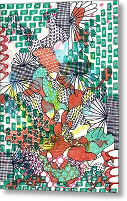 It's A Jungle Out There Metal Print by Lisa Noneman