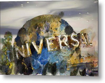 It's A Universal Kind Of Day Metal Print