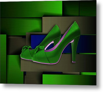 It's All About The Shoes Metal Print