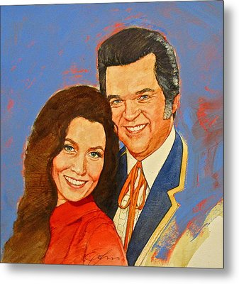 Its Country - 12 Loretta Lynn Conway Twitty Metal Print