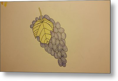 It's Just Grapes... Metal Print by Andrew Rice
