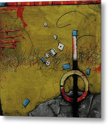 It's Not A Gamble 				 Metal Print by Laura Lein-Svencner