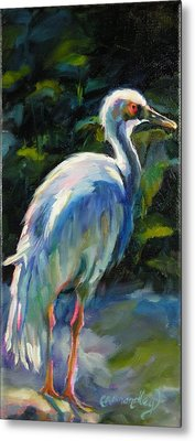 Metal Print featuring the painting I've Got My Eye On You by Chris Brandley