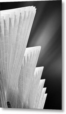 Ivory Gates Metal Print by Michiel Hageman