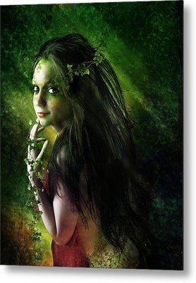Ivy Metal Print by Mary Hood