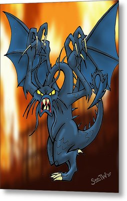 Jabberwock Metal Print by Sean Williamson