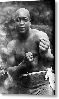 Jack Johnson (1878-1946) Metal Print by Granger