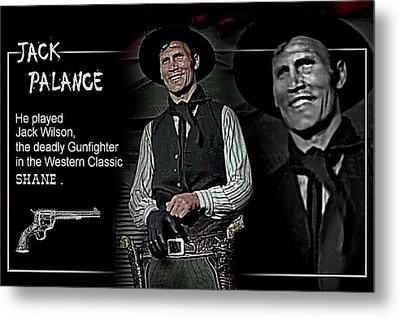 Jack  Palance Metal Print