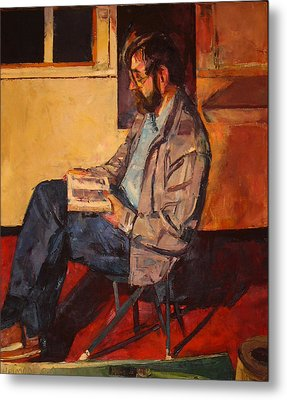 Metal Print featuring the painting Jack Rogers by Tim  Heimdal