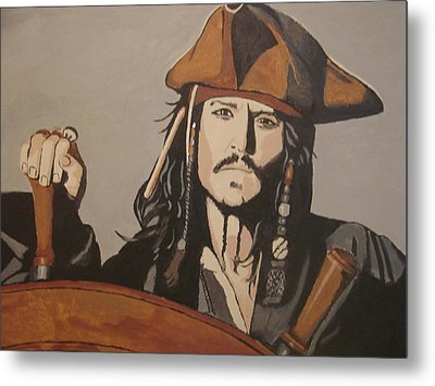 Jack Sparrow Metal Print by Bob Gregory