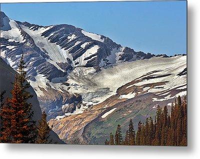 Jackson Glacier - Glacier National Park Mt Metal Print by Christine Till