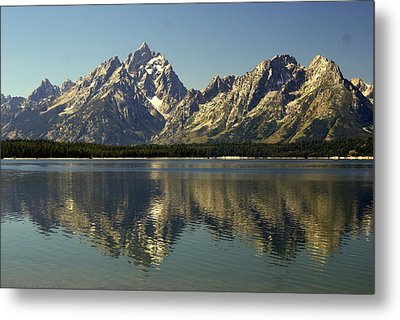 Jackson Lake 2 Metal Print by Marty Koch