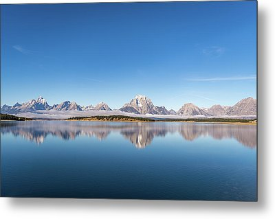 Metal Print featuring the photograph Jackson Lake by Mary Hone