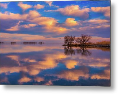 Metal Print featuring the photograph Jackson Lake Sunset by Darren White