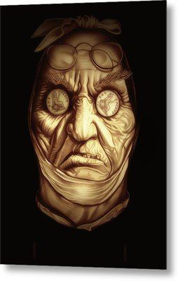 Jacob Marley Metal Print by Fred Larucci