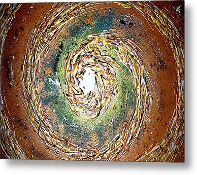 Jade Cyclone Metal Print by Daniel Lafferty