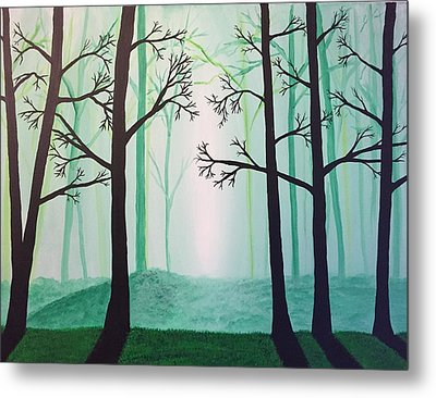 Jaded Forest Metal Print