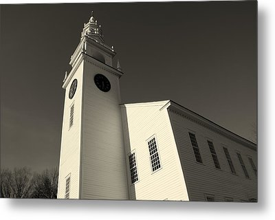 Jaffrey Meetinghouse Metal Print