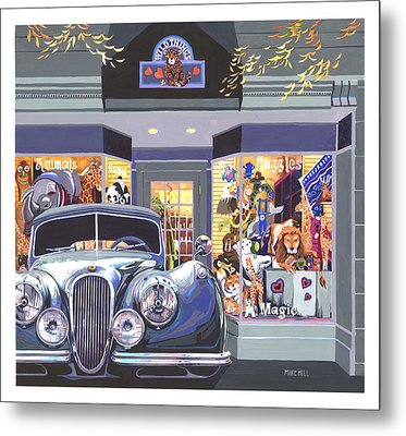Jaguar The Wild Thing Metal Print by Mike Hill