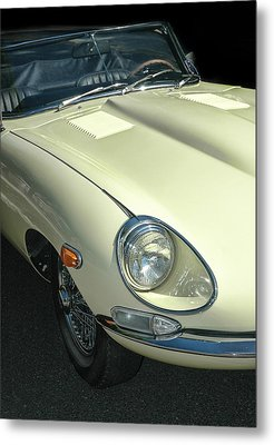 Jaguar Xke Roadster Metal Print