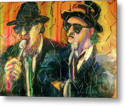 Jake And Elwood Metal Print