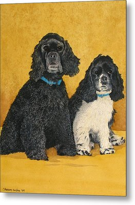 Jake And Lucy Metal Print by Sharon Farber