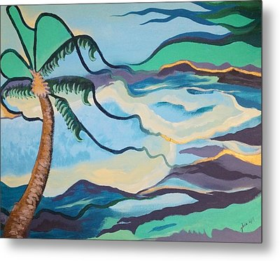 Jamaican Sea Breeze Metal Print