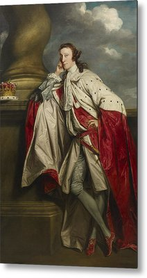 James 7th Earl Of Lauderdale Metal Print by Joshua Reynolds