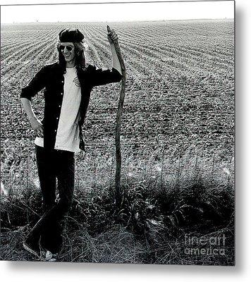 James At 18yrs. Metal Print