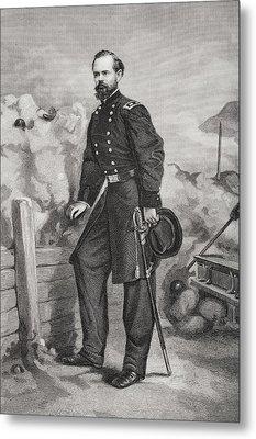 James Birdseye Mcpherson 1828 To 1864 Metal Print