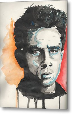 James Dean Metal Print by Matt Burke