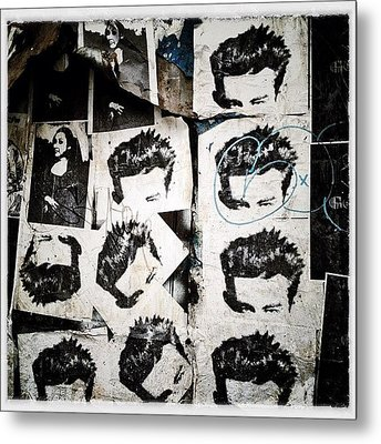 James Dean Metal Print by Natasha Marco