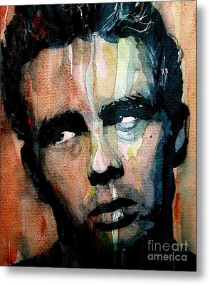 James Dean Metal Print by Paul Lovering