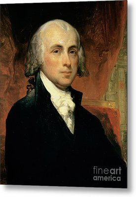James Madison Metal Print by American School