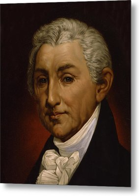 James Monroe - President Of The United States Of America Metal Print by International  Images