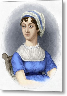 Metal Print featuring the photograph Jane Austen by Granger