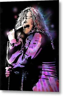 Janis Joplin Metal Print by Paul Sachtleben