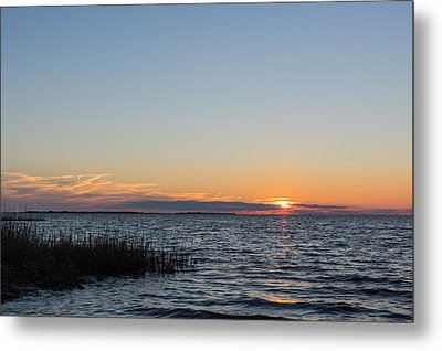 January Sunset Metal Print