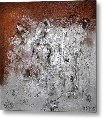 Metal Print featuring the painting Japanese Impressions#2 by Karo Evans