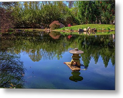 Metal Print featuring the photograph Japanese Reflections At Maymont by Rick Berk