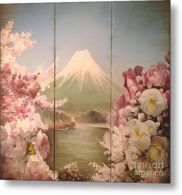 Japanese Spring Metal Print by Sorin Apostolescu
