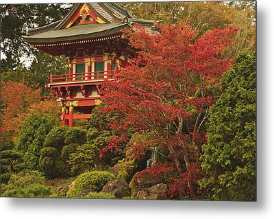 Japanese Tea Garden In Golden Gate Park Metal Print by Stuart Westmorland